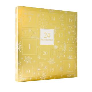 Calendrier de l'avent Doré - 24 Bijoux