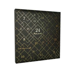 Calendrier de l'avent Noir - 24 Bijoux