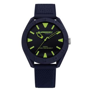 Montre homme Superdry OSAKA - cadran bleu marine - bracelet bleu