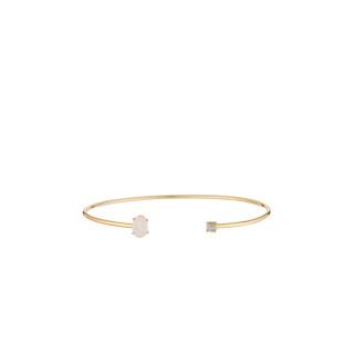 Bracelet doré et multipierres