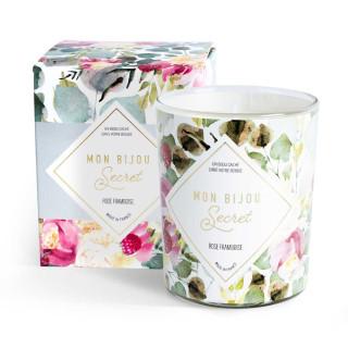Bougie Bijou parfumée - Rose Framboise