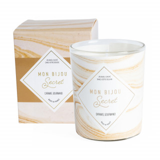 Bougie Bijou parfumée - Caramel gourmand