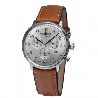 Montre Zeppelin GRAF ZEPPELIN Quartz - Gris - 40 mm - Z-7088-5