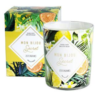 Bougie Bijou parfumée - Zeste d'agrumes