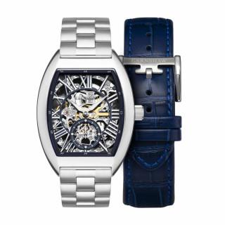 Coffret montre homme Earnshaw CHAPEL ES-8123-22 automatique - cadran bleu