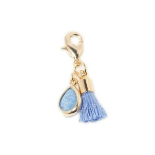 Double Charm's Anemone Blue Aventurine