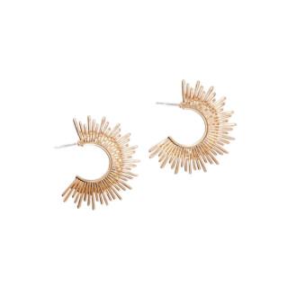 Boucles d'oreilles doré