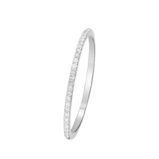 Bague Alliance Simply you Or blanc et Diamants