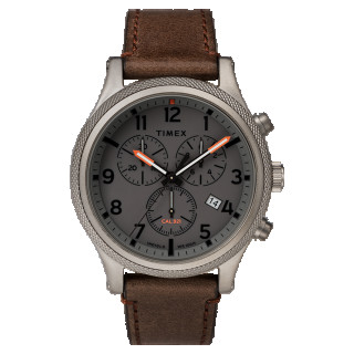 Montre Homme Timex Allied LT Chronographe Boîter 42mm Cadran INDIGLO® Gris - TW2T32800