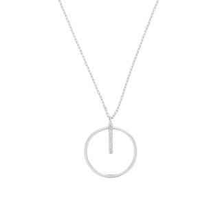Collier Cercle prodigieux Or et Diamants