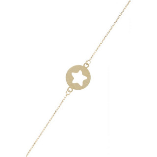 Bracelet fille Or Jaune 375/1000