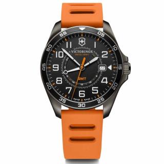 Montre Homme Victorinox FieldForce en caoutchouc orange - 42 mm