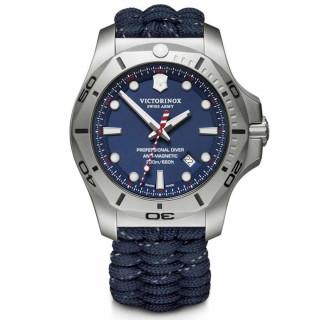 Montre Homme Victorinox I.N.O.X. en paracorde bleu - 45 mm
