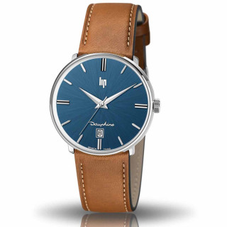 Montre homme LIP DAUPHINE 38 Bleu foncé - 671429