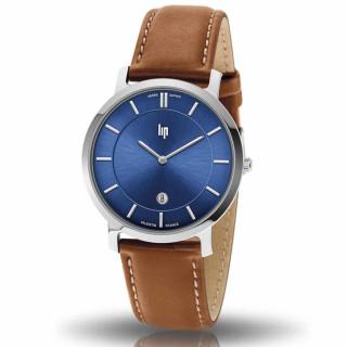 Montre mixte Lip VALENTIN 39 mm cadran bleu foncé - 671704 quartz