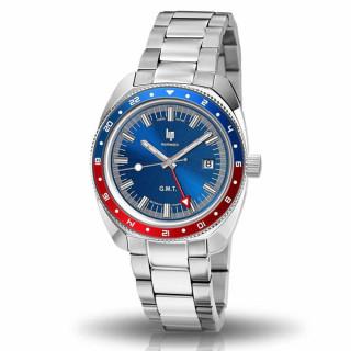 Montre homme Lip MARINIER 39 mm cadran bleu foncé - 671373 quartz