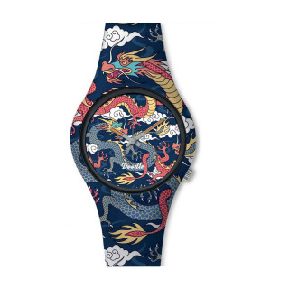 Montre Homme Doodle Street Fighter Mood cadran bleu - DO42002
