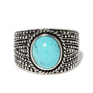 Bague Kayab Turquoise Argent 925