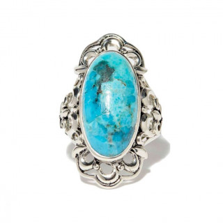 Bague Alabool Turquoise Argent 925