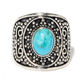 Bague Nategi Turquoise Argent 925