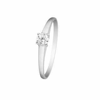Bague Excellence Or blanc